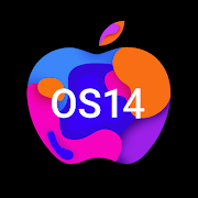 OS14 Launcher, Control Center, App Library i OS14