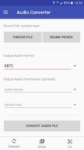 Audio Converter screenshots 1