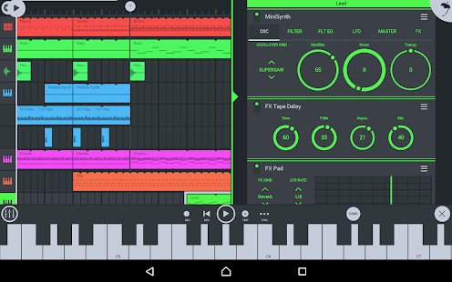 FL Studio Mobile Screenshot