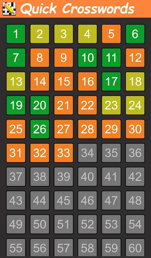 Quick Crosswords (English) 1.5.3 screenshots 8