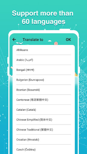 all language translate- picture translate and news screenshot 2