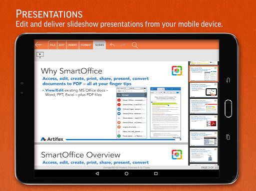 SmartOffice - View & Edit MS Office files & PDFs 3.9.10 Screenshots 12