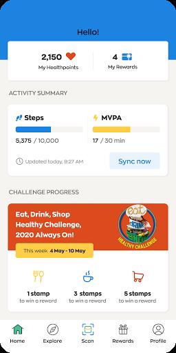 Healthy 365 screenshot 1