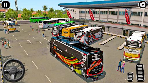 Modern Coach Tourist Bus: City Driving Games Free 1.0 screenshots 5