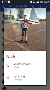 Contacts VCF 4.1.67 Screenshots 3