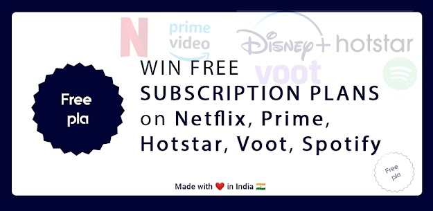 OTT Subscriptions For FREE Every Day | FreePla 1