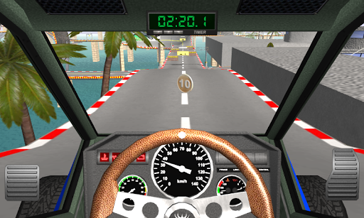 Racing stunts by car. Extreme driving apkpoly screenshots 16