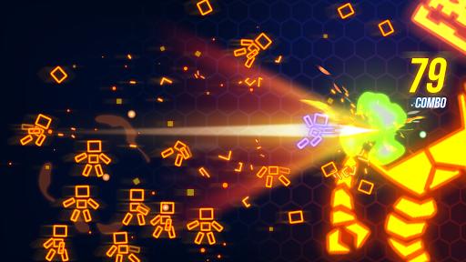 Ninja Slice Master : Stickman Neon Action  screenshots 4