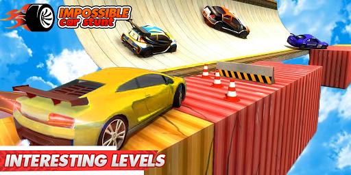 Impossible Car Stunts 3D - Car Stunt Races  screenshots 6