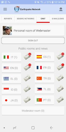 Earthquake Network - Realtime alerts android2mod screenshots 5