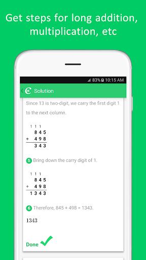 Cymath - Math Problem Solver  Screenshots 7