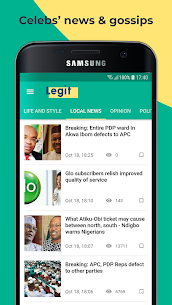 Legit.ng — Nigeria News 8.3.12 APK Mod for Android 3