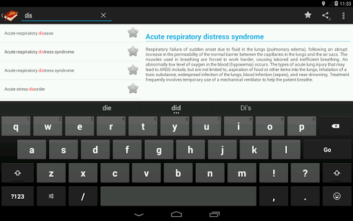 Medical Terminology Dictionary:Search&Vocabulary 3.6.0 Screenshots 17