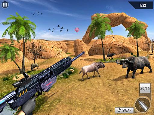 Wild Deer Hunt 2021: Animal Shooting Games apktram screenshots 7