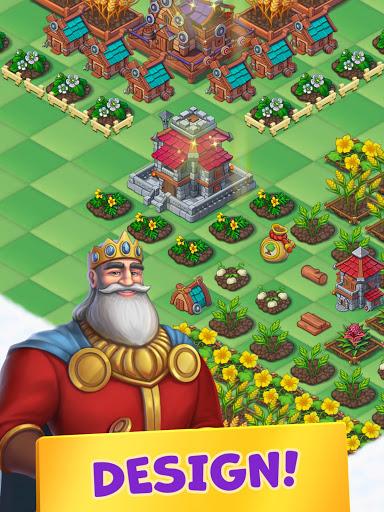 Mergest Kingdom: Merge Puzzle apkpoly screenshots 10