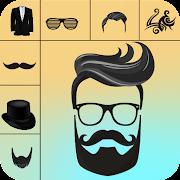 Man Photo Editor : Man Hair style, moustache, suit