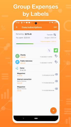 Monthly Budget Planner & Daily Expense Tracker apktram screenshots 3