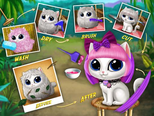 Baby Jungle Animal Hair Salon - Pet Style Makeover 4.0.10005 Screenshots 9