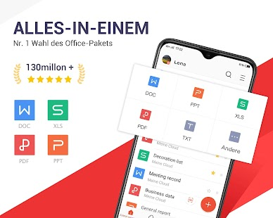 WPS Office -Frei Office Suite für Word, PDF, Excel Screenshot
