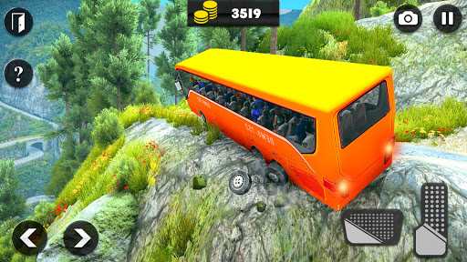 Offroad Bus Driving Simulator 2019: Mountain Bus apktram screenshots 11