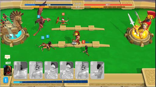 Trojan War 2: Clash Cards Game  screenshots 2