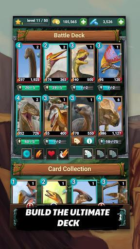 Jurassic Dinosaur: Carnivores Evolution - Dino TCG 1.4.14 Screenshots 3