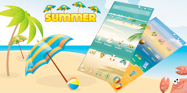 Summer Beach Theme  For Pc   How To Install (Download Windows 7, 8, 10, Mac) 1