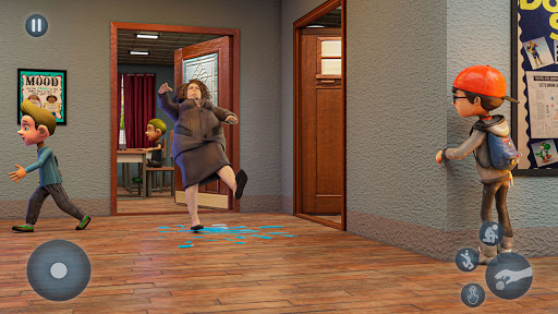 Scare Scary Bad Teacher 3D - Spooky & Scary Games screenshots 4