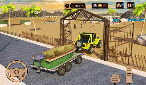 Camper Van Truck Simulator: Cruiser Car Trailer 3D screenshots 11
