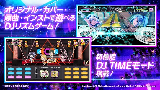 D4DJ Groovy Mix(グルミク) v2.1.8 Mod Menu [AutoDance with choosable %Perfect (Never Miss or Bad)] 1