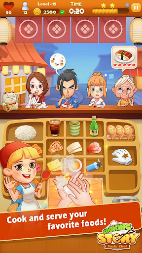 Sushi Master - Cooking story 4.0.2 screenshots 1