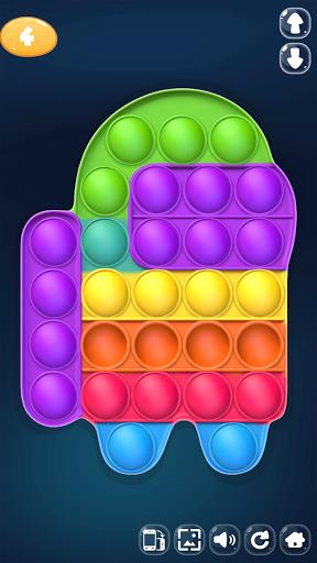 Pop It Me! 3D Fidget Relaxing ASMR Game Popit  screenshots 1
