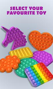 Pop It Sensory Fidget cube toys 3d Anxiety Relief 4
