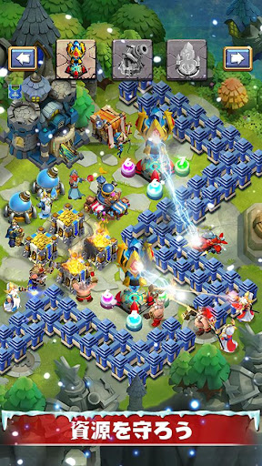 Castle Clashuff1au30aeu30ebu30c9u30edu30a4u30e4u30eb 1.7.3 screenshots 9