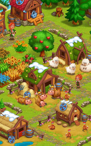 North Dragon Island - build Vikings Farm  screenshots 5
