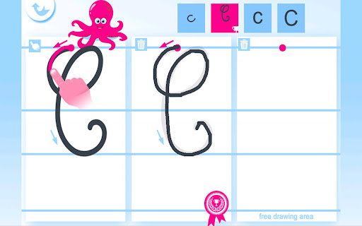Write the Alphabet for Kids For PC Windows (7, 8, 10, 10X) & Mac Computer Image Number- 8
