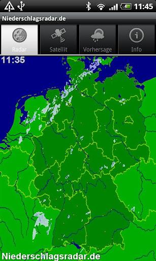 NiederschlagsRadar.de  screenshots 1