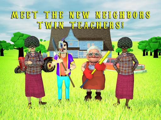 Scary Clown Man Neighbor. Seek & Escape Apkfinish screenshots 17