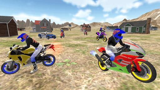 real moto bike racing- police cars chase game 2019  screenshots 1