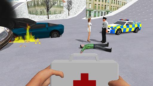 Ambulance Simulator - Car Driving Doctor screenshots 19