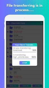 Transfer phone to SD Card – FilesToSd Card Screenshot