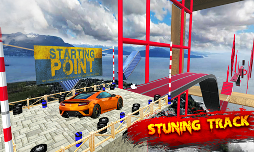 Race Off - stunt car crashing infinite loop racing  screenshots 1