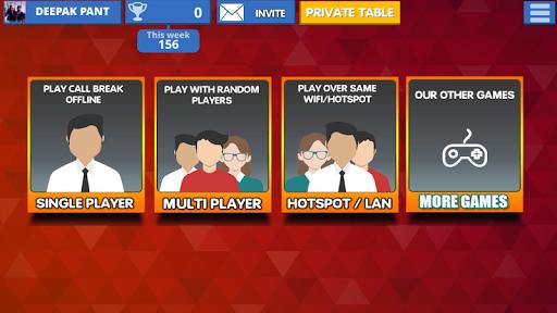 Call Break Card Game -Online Multiplayer Callbreak  Screenshots 6