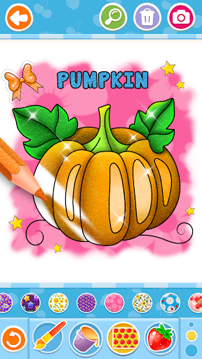 Fruits and Vegetables Coloring Game for Kids  screenshots 5