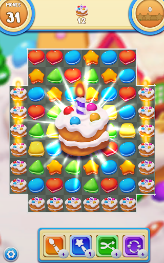 Cookie Macaron Pop : Sweet Match 3 Puzzle 1.5.4 screenshots 17