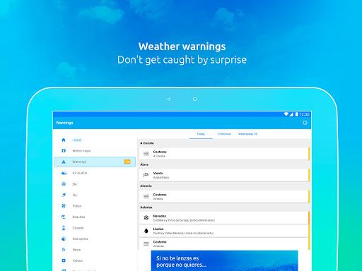 Weather by eltiempo.es 4.4.12 Screenshots 12