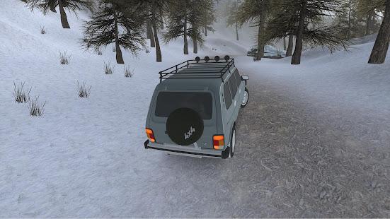 Forest Roads. Niva screenshots 4