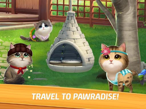Meow Match: Cats Matching 3 Puzzle & Ball Blast Apkfinish screenshots 11