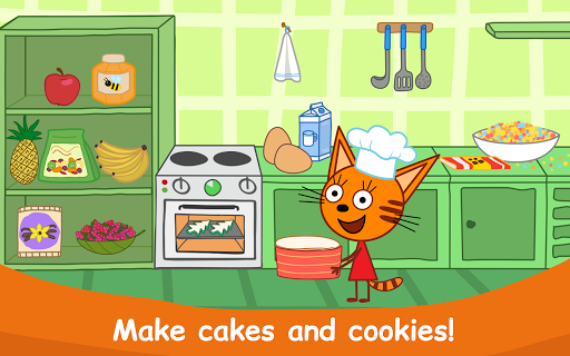 Kid-E-Cats: Cooking for Kids with Three Kittens!  screenshots 10