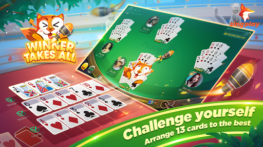 Pusoy ZingPlay - Chinese poker 13 card game online  screenshots 16